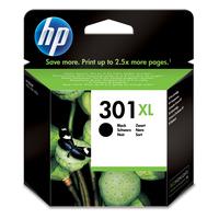 HP 301 inktcartridges 301XL originele high-capacity zwarte Inktcartridge