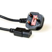 ACT UK powercord C13, 2.50 m Cordon d'alimentation - Noir