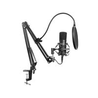 Sandberg Streamer USB Microphone Kit Microfoon - Zwart
