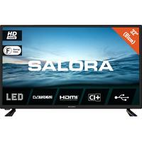 """Salora 210 series 32"""" (81cm) HD LED tv met DVB-S2/T2/C en usb mediaspeler Led-tv - Zwart"""