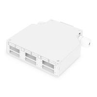 Digitus DIN Rail Splicing Box for 6x SC//DX Couplers, color grey Glasvezel-adapters - Grijs