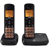 Fysic FX-5520 Big Button Dect Twinset Black actie pakket 5+1 gratis Diverse hardware