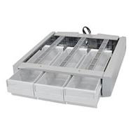Ergotron Tiroir triple supplémentaire SV43/44 Accessoires panier multimédia - Gris, Blanc