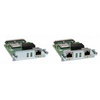 Cisco NIM-2FXS/4FXO, Refurbished Module de réseau voix