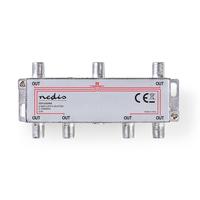 Nedis SSPL600ME Répartiteur de câbles - Argent
