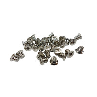 """QNAP Screw pack for 3.5"""" HDD intallation, 96 pieces, Flat head machine screw Vis et boulons - Argent"""