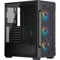 Corsair iCUE 220T RGB Airflow Boîtier d'ordinateur - Noir