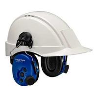 3M Headset, 30 dB, J11 Plug, Helmet Mounted - Blauw