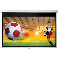 "Optoma DS-9092PWC/92"" 16:9 Matte white Projectiescherm - Wit"