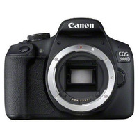 Canon EOS 2000D + EF-S 18-55mm f/3.5-5.6 III Caméra digitale - Noir