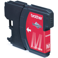 Brother LC-1100M Blister Pack Inktcartridge - Magenta