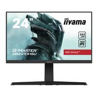 "Iiyama G-MASTER 23.8"", 1920x1080, IPS, 16:9, HDMI, DP, USB, HDCP, 539.5x395(525)x256 mm Moniteur - Noir"