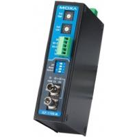 Moxa Industrial RS-232/422/485 to fiber converters Seriële coverters/repeaters/isolatoren