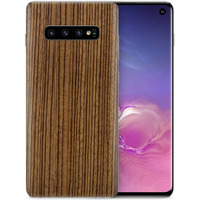 Dskinz Smartphone Back Skin for Samsung Galaxy S10 Zebra Wood
