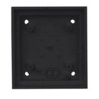 Mobotix T24M\Single On-Wall mount Black Elektrische knooppunt dozen - Zwart