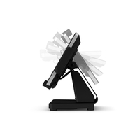 Elo Touch Solution Flip Stand, f / Elo Touch I-Series Multimedia karren & stands