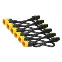 APC Power Cord Kit (6 ea), Locking, C19 to C20, 0.6m Cordon d'alimentation - Noir