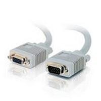 C2G 15m HD15 M/FM Cable - Gris