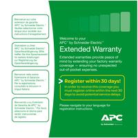 APC Accessoires Service Pack-02: +1 jaar garantie upgrade Garantie- en supportuitbreiding
