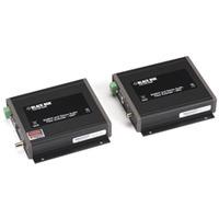 Black Box RGBHV/Stereo-Audio Fibre Extender Rallonges AV - Noir
