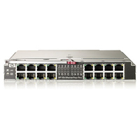 Hewlett Packard Enterprise 1GB Ethernet Pass-Thru Mod Netwerkswitch module