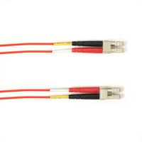 Black Box LC–LC, 5m Câble de fibre optique - Rouge