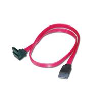 ASSMANN Electronic 2x SATA 7-pin, 0.5 m ATA kabel - Zwart, Rood