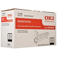 OKI Black image drum for C5650/5750 Printerdrum - Zwart