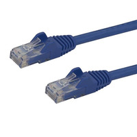 StarTech.com Cat6 patchkabel met snagless RJ45 connectors 0,5 m, blauw Netwerkkabel
