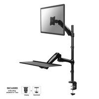 Neomounts by Newstar FPMA-D500KEYB support de bureau pour écran, clavier et souris Support .....