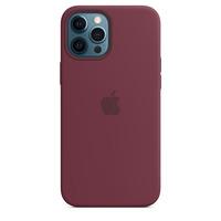 Apple Coque en silicone avec MagSafe pour iPhone 12 Pro Max - Prune - Violet