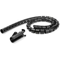 StarTech.com 1,5 m kabelgoot spiraal 25 mm diameter - Zwart