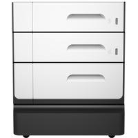 HP Socle et bac à papier PageWide Pro 2x500-sheet Meuble d'imprimante - Noir