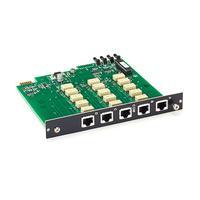Black Box Pro Switching System Multi Switch Card - RJ-45, CAT5e, 4-to-1 Netwerkkaart - Zwart