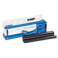 KMP F-P2 Faxlint - Zwart
