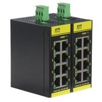 KTI Networks Industrial 8-Port Fast Ethernet Switch