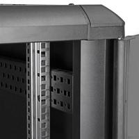 StarTech.com 22U demonteerbare serverkast met wielen Stellingen/racks - Zwart