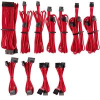 Corsair PSU Cables Pro Kit Type 4 Gen 4 – Red - Noir,Rouge