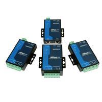 Moxa 1x RS-232, 1x RS-422/485, Terminal Block, DTR/DSR, 0 - 55°C, IP30, Programmable, Starter Kit Serveur série