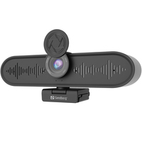Sandberg All-in-1 ConfCam 4K 4Mic Webcam - Noir