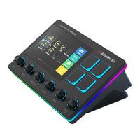 AVerMedia USB 2.0, XLR, 3.5mm, 96kHz, 24 bits, 10Hz to 20kHz Tables de mixage DJ - Noir