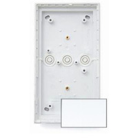 Mobotix T24M\Triple On-Wall mount Pure White Elektrische knooppunt dozen - Wit