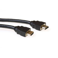 ACT HDMI High Speed connection cable HDMI-A male - HDMI-A male, High Quality - Noir