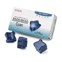 Xerox Encre solide authentique 8500/8550 cyan (3 bâtonnets) Bâton d'encre