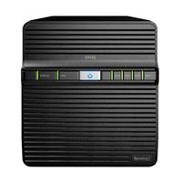 "Synology DiskStation DS420J, Realtek RTD1296, 1 Go DDR4, 4x 2.5./3.5"" SATA, 1x 1GoE RJ-45, 2x USB 3.0, ....."
