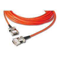 Opticis Hybride DVI verlengkabel. Lengte: 30. Eenh. 1 stk - Oranje