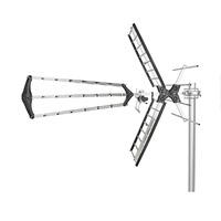 Nedis ANORUV10L8ME Antenne satellite - Argent, Noir