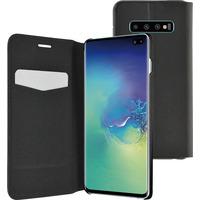 Azuri booklet ultra thin met stand functie - zwart - Samsung Galaxy S10 Plus