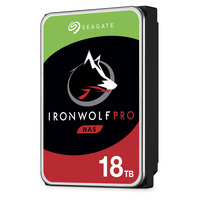 Seagate IronWolf Pro 18 GB, 7200 rpm, 260MB/s Interne harde schijf