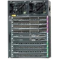 Cisco Catalyst 4510R+E switch (10-slot chassis), fan, no power supply, Ref Châssis de réseaux - Refurbished .....